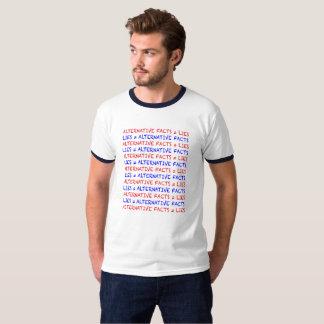"""""""Alternative Fact = Lies"""" light-colored T-Shirt"""