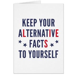 Alternative Facts Card