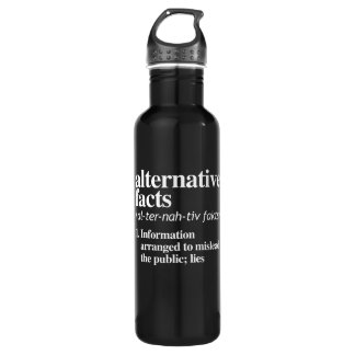 Alternative Facts Definition Stainless Steel Water Bottle