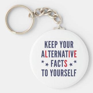 Alternative Facts Keychain