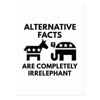 Alternative Facts Postcard