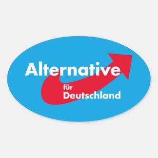 Alternative for Germany Oval Sticker