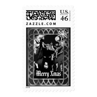 Alternative Gothic Christmas Stamps
