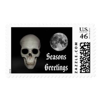 Alternative Gothic christmas Stamp