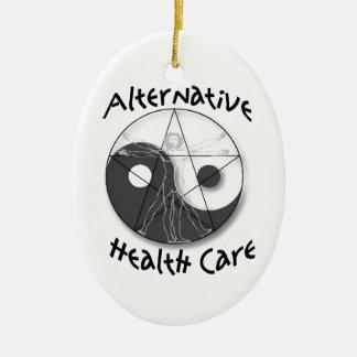 Alternative Health Care Ceramic Ornament