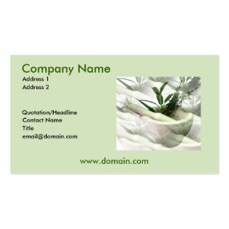 Herbal Business Cards & Templates