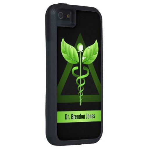 Alternative Medicine Caduceus iPhone 5 Tough Case iPhone 5 Cases