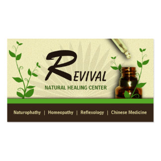 Alternative Medicine Homeopathy Business Cards Business Card Templates