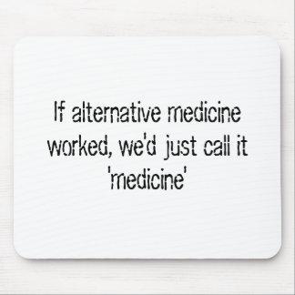 Alternative Medicine Mouse Pad