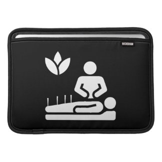 Alternative Medicine Pictogram MacBook Air Sleeve