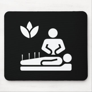 Alternative Medicine Pictogram Mousepad