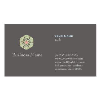 Alternative Medicine Profession Business Card