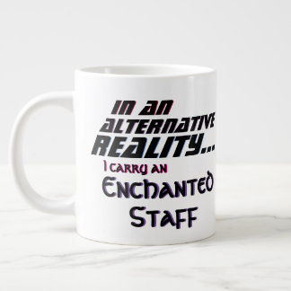 Alternative Reality Enchanted Staff Giant Coffee Mug