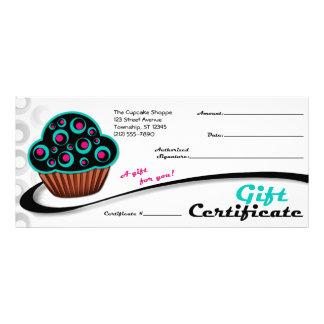 Alternative Retro Teal Cupcake - Gift Certificates