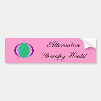 Alternative Therapy Heals! - bumper sticker