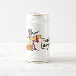 Alternatives to Turkey for Thanksgiving Dinner Beer Stein