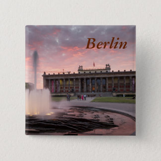 Altes Museum and Lustgarten in Berlin Button