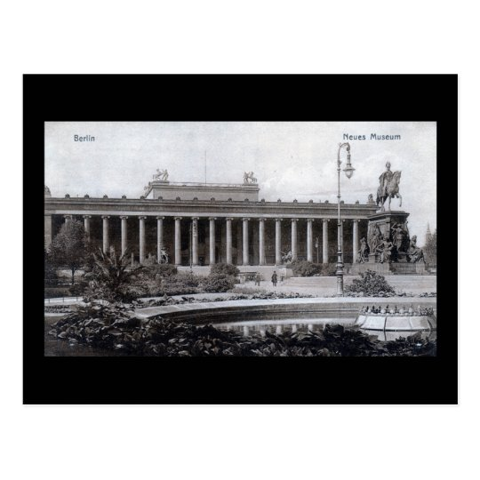 Altes Museum Berlin Germany 1910 Vintage Postcard