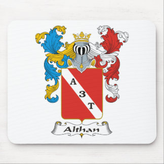 Althan Family Hungarian Coat of Arms Mouse Pad