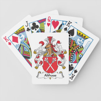 Althaus Family Crest Bicycle Playing Cards
