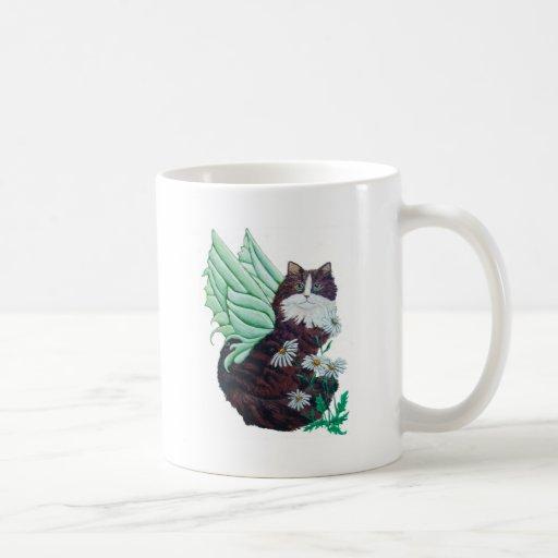 Althea The Maine Coon Fairy Cat Classic White Coffee Mug