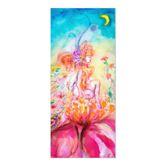 ALTHEA /Whimsical Fairy on the Pink Flower Card