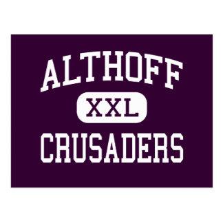 Althoff - Crusaders - Catholic - Belleville Postcard