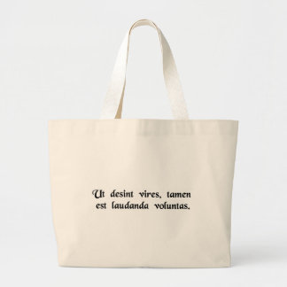 Although the power is lacking, the will is commend canvas bags