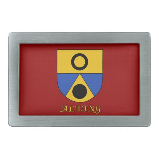 Alting Family Shield Belt Buckle