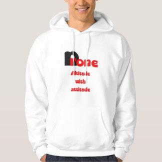 Altitud del abejón con actitud jersey con capucha