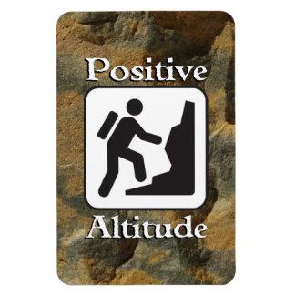 Altitud positiva - imán del caminante