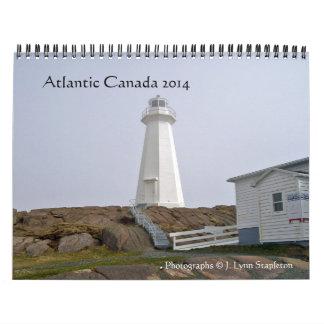 Altlantic Canada 2014 Wall Calendar