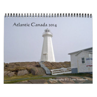 Altlantic Canada 2014 Calendar