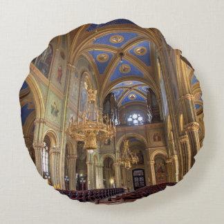 Altlerchenfelder Kirche Wien Österreich Round Pillow