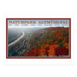 Altmühltal - Autumn Colors Postcard