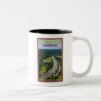 Altmühltal - River Cruise Two-Tone Coffee Mug