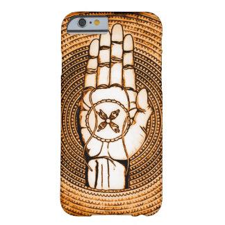 Alto arte de la mano del ángel de guarda funda barely there iPhone 6