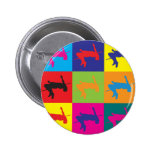 Alto arte pop de salto pins