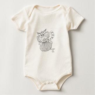 alto atado mamelucos de bebé