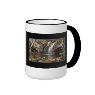 Alto bosque del Estado Alabama Coffe de Talladega Taza De Dos Colores