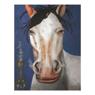 Alto caballo membrete