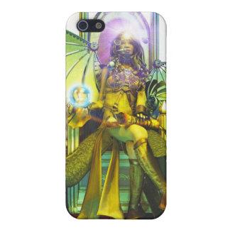 Alto caso del iPhone de la sacerdotisa, por José M iPhone 5 Cárcasas