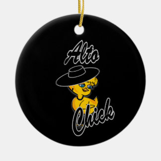 Alto Chick #4 Christmas Ornament