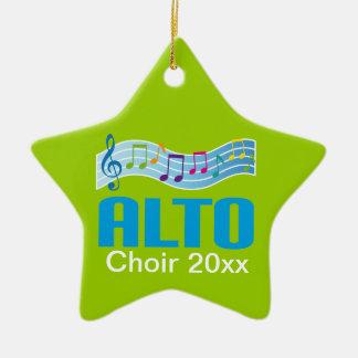 Alto Choir Keepsake Ornament Gift For Singer