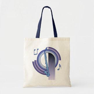Alto Clarinet Deco2 Canvas Bag