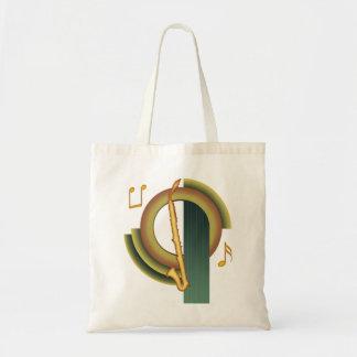 Alto Clarinet Deco 1 Canvas Bag