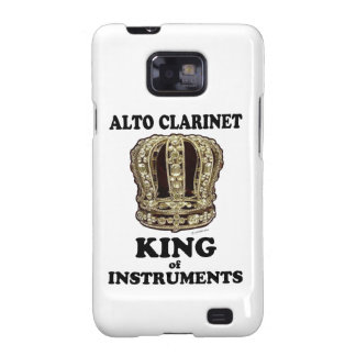 Alto Clarinet King of Instruments Samsung Galaxy S2 Cases