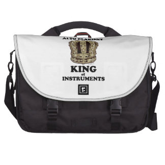 Alto Clarinet King of Instruments Laptop Bag