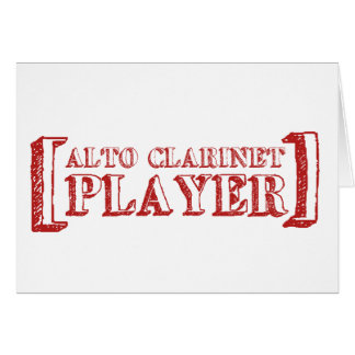 Alto Clarinet  Player Card