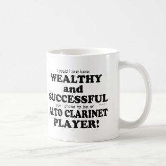 Alto Clarinet Wealthy & Successful Coffee Mug